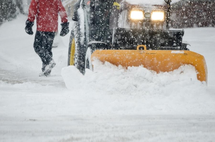 Winterdienst Strassenräumung