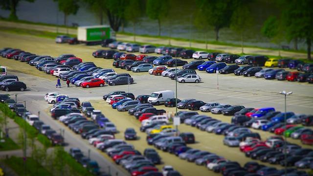 Parkplatzunfall