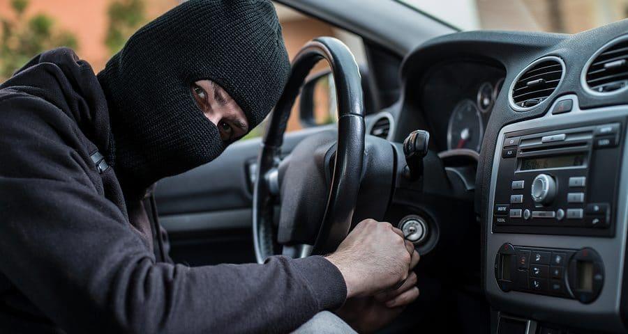 Auto Diebstahl