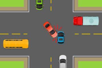 Verkehrsunfall – Haftung bei Vorfahrtsverletzung