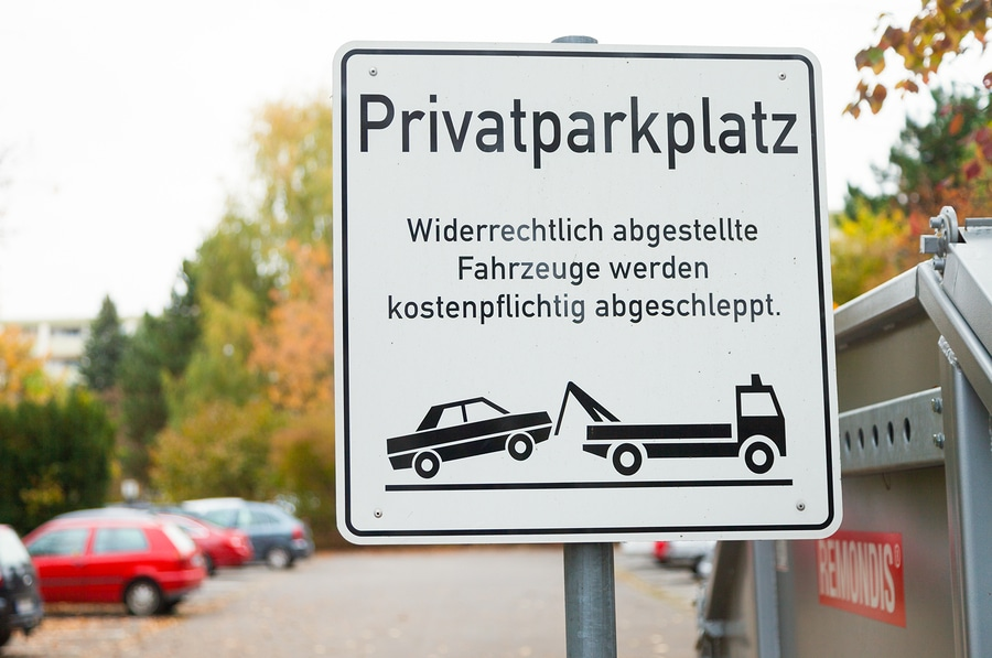 Parken auf einem Privatparkplatz – Unterlassungsanspruch