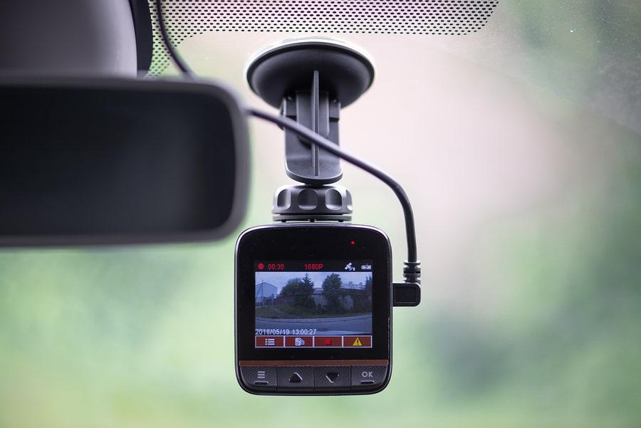Dashcam im Straßenverkehr als Beweismittel bei Unfall