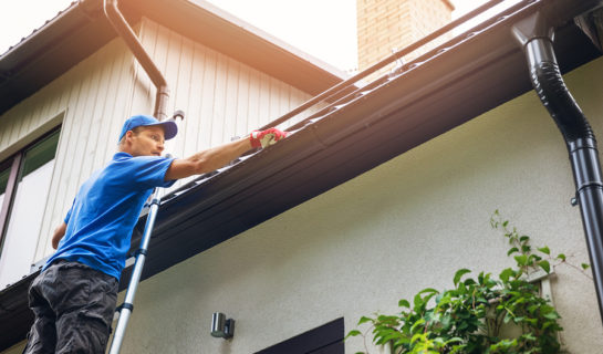 Dachrinne – Anspruch auf Beseitigung einer zum Nachbarhaus gehörenden Dachrinne