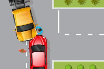 Verkehrsunfall – Haftung bei Auffahrunfall beim Abbiegen