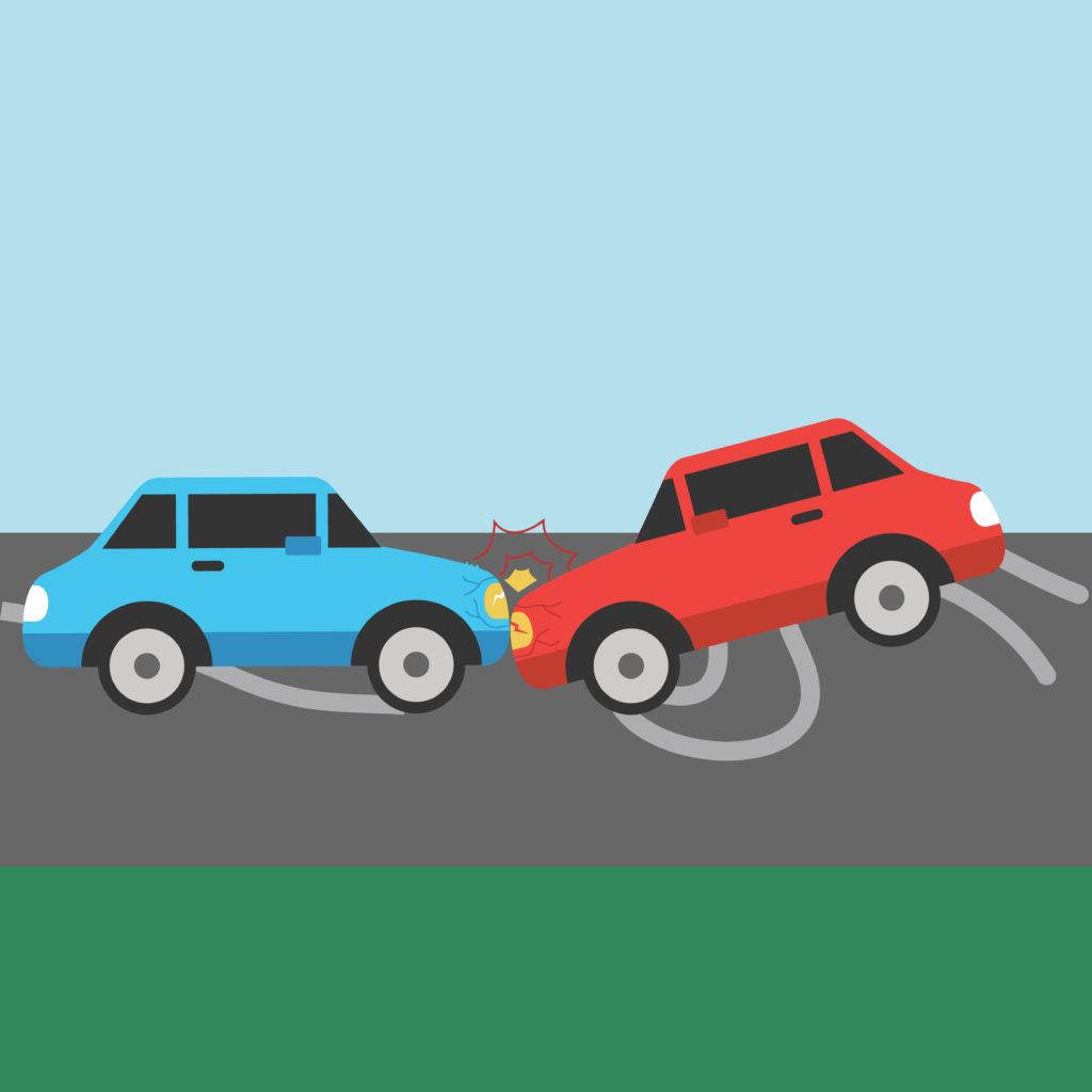 Indizien für verabredeten Verkehrsunfall