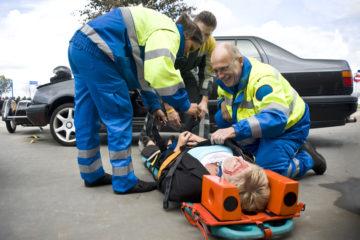 Verkehrsunfall – Schmerzensgeldbemessung bei leichter Distorsion der Halswirbelsäule