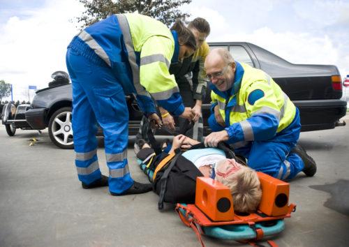 Verkehrsunfall - Schmerzensgeldbemessung bei leichter Distorsion der Halswirbelsäule