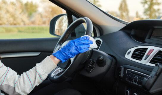 Verkehrsunfall – Kosten für die Innenraumdesinfektion des Fahrzeugs