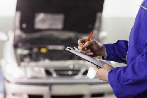 Verkehrsunfall - Reparaturnachweis von Vorschäden
