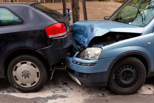 Verkehrsunfall - Auffahrunfall durch Radfahrerverschulden