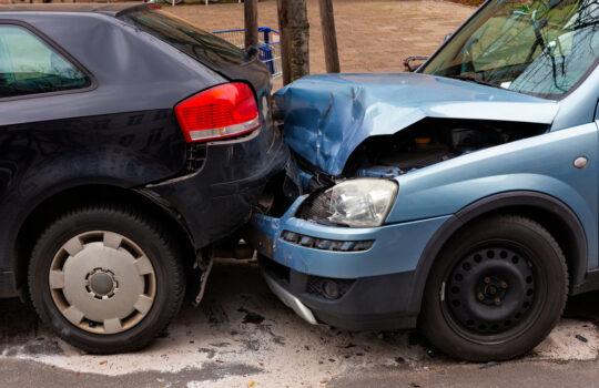 Verkehrsunfall – Auffahrunfall durch Radfahrerverschulden